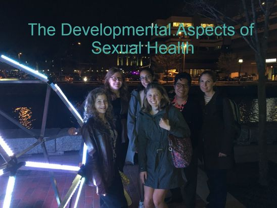 The Developmental Aspects of Sexual Health Laboratory